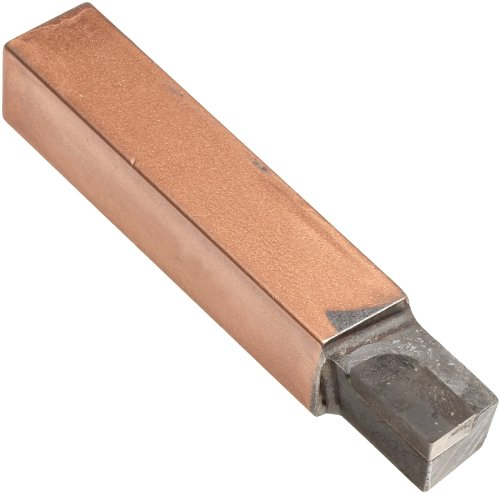 American Carbide Tool Carbide-Tipped Tool Bit for Straight Turning, Left Hand, C6 Grade, 0.3125' Square Shank, AL 5 Size