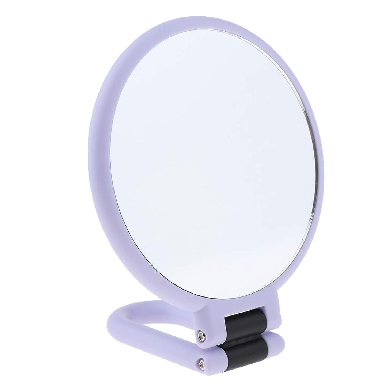 血キャプテンパッチ化粧鏡 拡大鏡 卓上ミラー 折り畳み式 両面ミラー メイクミラー 3サイズ - 3倍の拡大鏡