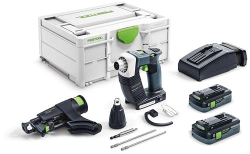Festool DWC 18-4500 HPC 4,0 I-Plus DURADRIVE 576502 - Destornillador inalámbrico