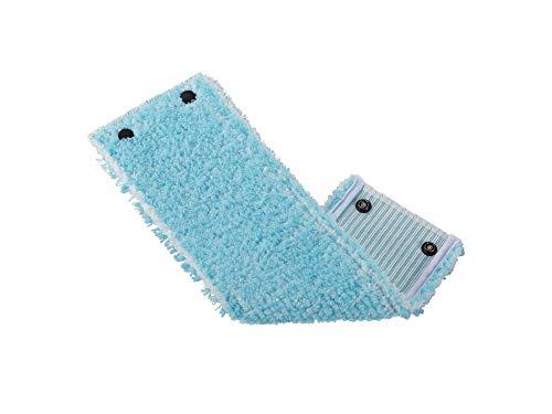 Leifheit Wischbezug Clean Twist XL super soft für sensible Böden, Bodenwischer Ersatzbezug mit Spezialfasern, Wischmopp Ersatzbezug für minimale Wasseraufnahme, ideal für Parkett, Laminat und Kork
