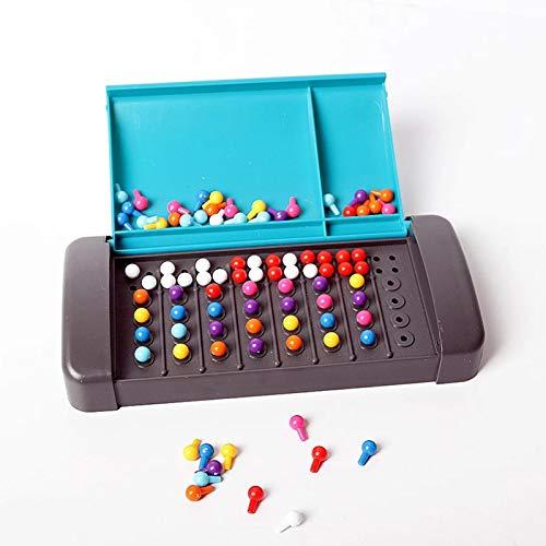 su-luoyu Mastermind Classical Code Cracking Spiel, Mastermind Brain Teaser Brettspiel Spaß Intelligentes 3D Brettspiel Familienspiel Kinder Pädagogische Intellektuelle Entwicklung Spielzeug