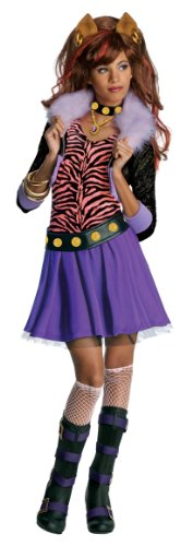 - Monster High Kostüme Clawdeen Wolf Kinder
