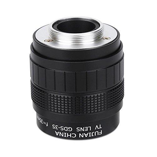 Obiettivo della fotocamera 35mm f/1.7 Accessorio per fotocamera per fotografia con obiettivo televisivo a circuito chiuso per montaggio C.