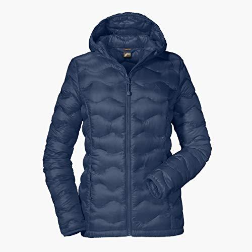 Schöffel Damen Down Jacket Kashgar2 Daunen- / Thermojacken, Blue Indigo, 40