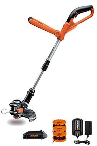 Amazing Deal Worx WG155 10 20V Li-Ion Cordless String Trimmer & Edger with Battery & Charger