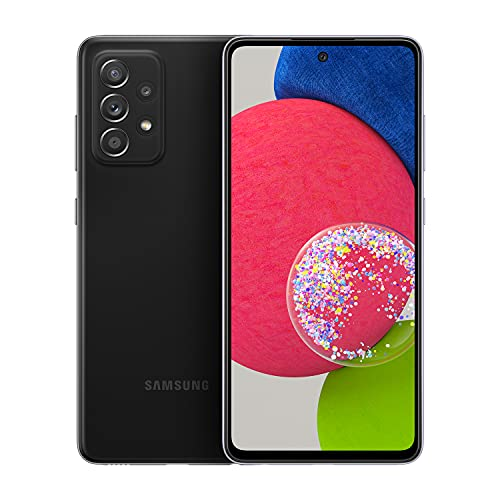 Samsung Galaxy A52s 5G (Black, 6GB RAM, 128GB Storage) with No Cost EMI/Additional Exchange Offers