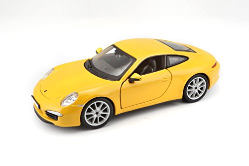 Bburago 18-21065 - Porsche 911 Carrera S - Star - 1:24, colori assortiti