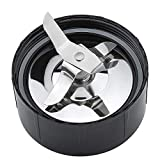 Ice Shaver Blade and Cross Blades by Beaquicy - Replacement Parts for Magic Bullet Blender, Juicer and Mixer
