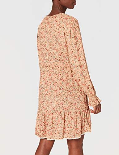 Springfield Vestido Túnica, Tostado, 40 para Mujer