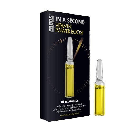 EUBOS IN A SECOND Vitamin Power Boost Stärkungskur 14 ml