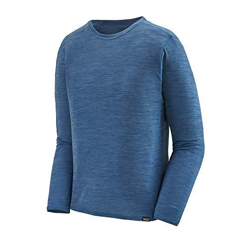 Patagonia M Long-Sleeved Capilene Cool lichtgewicht shirt blauw, dames met lange mouwen, maat XL - kleur Superior Blue - Lig