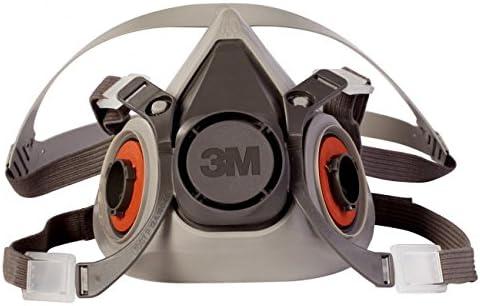 3M 6200 Medium Half Facepiece Chemical Fume Respirator
