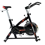 TechFit SBK200 Spinning Cyclette, 20KG Volano, Sedile e Manubrio Regolabili, Sistema Frenante...