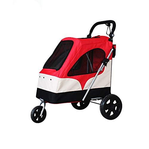 Hundetransporter, Trolley, Trailer, Sportlich.Buggy, Kinderwagen, Kinderwagen für Hunde und Katzen