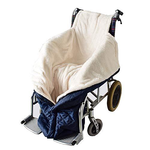 XJZHANG Rollstuhl-Decke mit Zipper, Cashmere-Gefüttert & Wasserdicht, Universal fit für manuell und elektrisch betriebene Rollstühle, maschinenwaschbar