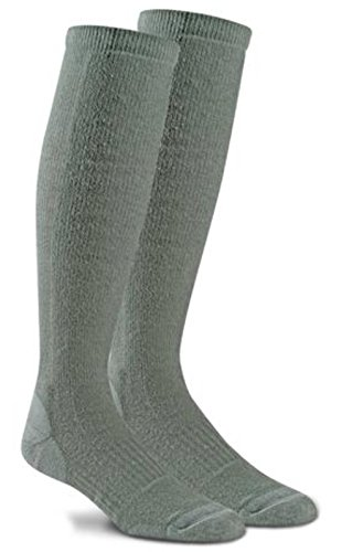 Fox River Adult Military Fatigue Fighter Over-The-Calf Compression Socks (Large, Sage)