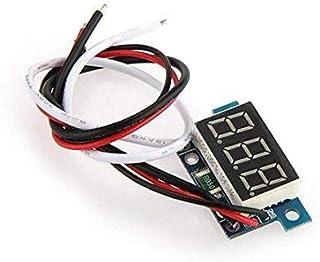 Mini Digital Ammeter Meters Panel 0-1A Current Display LED Blue