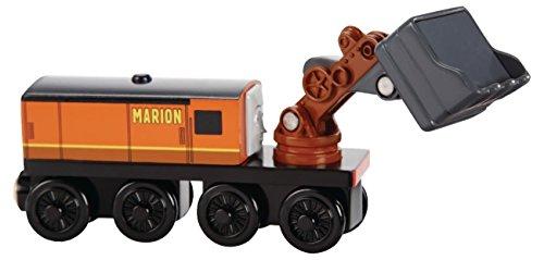 Mattel Fisher-Price BDG05 Thomas ed i suoi amici - Marion locomotiva in legno