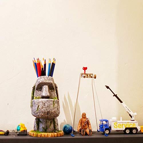 Makluce Pasen Pennenopberghouder, moderne eenvoud potlood, bloempot, decoratie kantoorbenodigdheden, kindergeschenk schrijfwaren ideaal