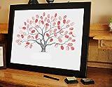 ZGYQGOO Personalisierte handbemalte Zeichen in der DIY Hochzeit Unterschrift Gemälde, 60 * 80
