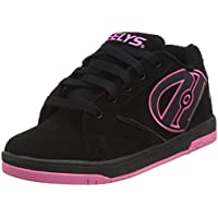 HEELYS Propel 2.0 770291 - Zapatos 1 rueda para niñas, Multicolor (Black/Hot Pink), talla 35