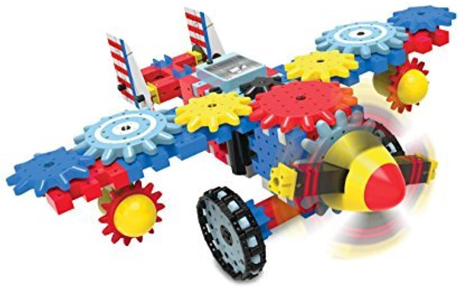 The Learning Journey Techno Gears, Aero Trax Plane by The Learning Journey