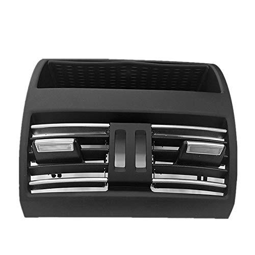 shiqi Aire Acondicionado Trasero Aire Acondicionado Grille Salida de Salida de Aire Ajuste para BMW 5 Series F10 F11 2010-2016 64229172167 64 22 9 172 167 (Color : Black)