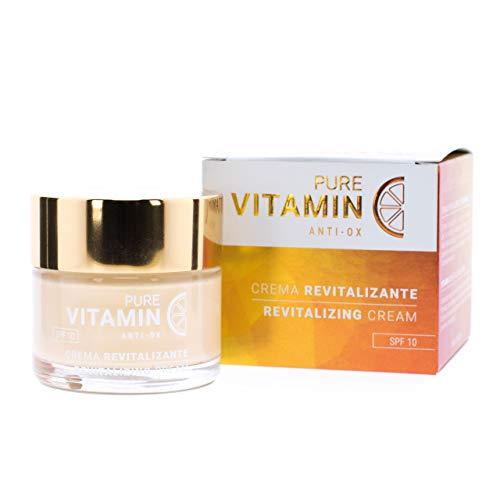 Noche Y Día Crema Revitalizante Con Vitamina C - Pure Vitamin C Anti-Ox Spf10- Ml, 60 Mililitro
