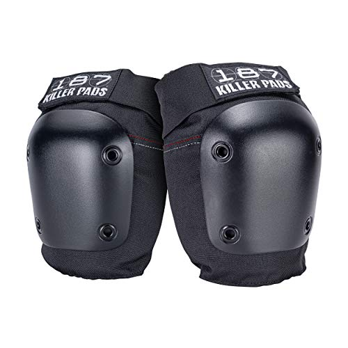 187 Fly Knee Pads Black-XS
