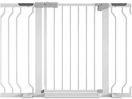 DFKDGL Metal Adjustable Baby Pet Safety Gate Stair Gate Auto-Close with Pressure Mount Expandable Stands 78cm tall The width can be selected from 68 to 230cm (Color : Height 78cm, Size : 160-167cm)