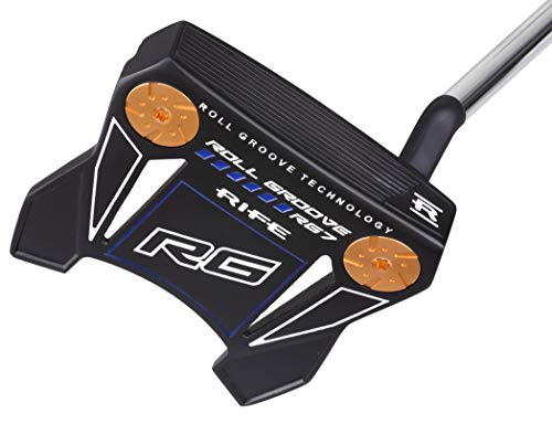 """Rife Golf Roll Groove Technology Series Right Handed RG7 Full Exotic Mallet Putter Precision Milled Face Edge and Cavity Ensures an Ideal Weight Balance Perfect for Lining Up Your Putts (32"""")"""