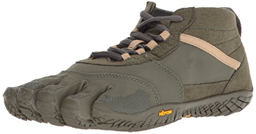 Vibram V-Trek, Basket Homme, Military Dark Grey, 47 EU