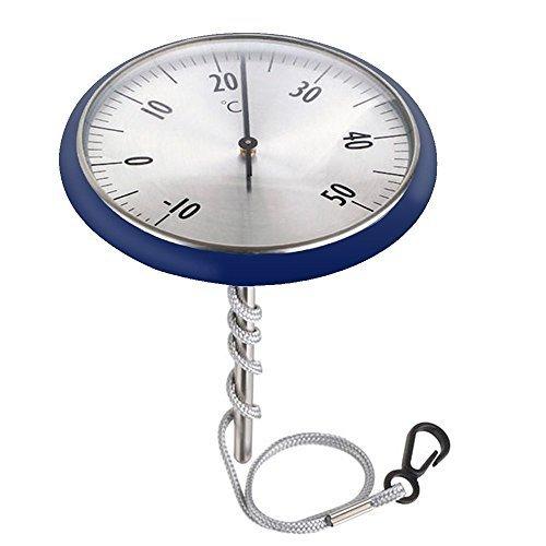SUNKCCI® de natation Thermomètre d'eau 110 x 100 x 180 mm bleu …