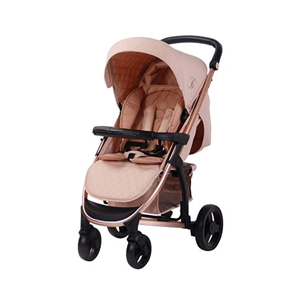 My Babiie Billie Faiers MB200 Rose Blush Pushchair My Babiie Billie Faiers Suitable from birth to maximum 15kg Extendable 3 position canopy Lockable swivel front wheels 2