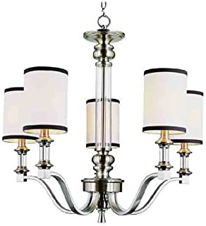 Trans Globe 7975 Modern Meets Traditional 5-light Style Chandelier Light