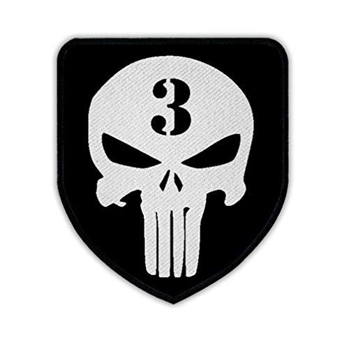 Patch/parche–American Sniper Chris Kyle Caza Navy Seal Team 3US Irak Guerra Seals Texas Held Militar Veteran Estados Unidos Army cráneo Logo # 16357