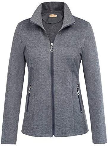 Kate Kasin Women's Stand Collar Limited time trial price Sport Lightweight Casual Colorado Springs Mall Jacket