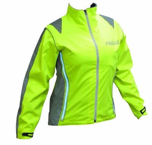 Proviz Women s Waterproof Jacket- Yellow, Size 10
