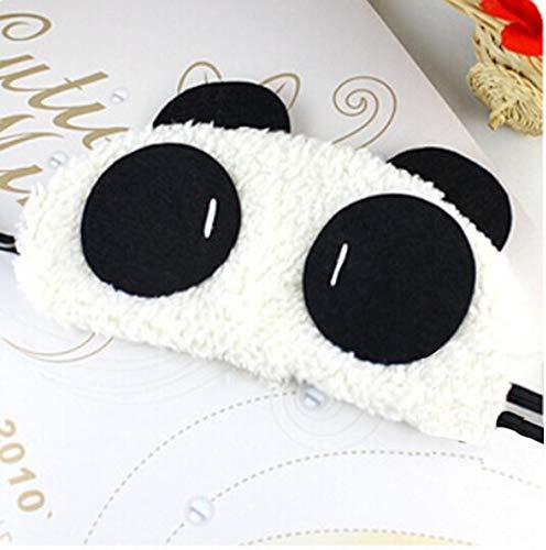 Kawaii Panda Sleeping Cute Eye Mask Nap Cartoon Eye Shade Sleep Black Mask En Los Ojos Para Dormir Como Imagen
