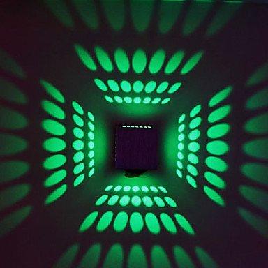 longless Chandelier mural – LED/Ampoule Inclus – moderne/Temps conformément – Métal, Green