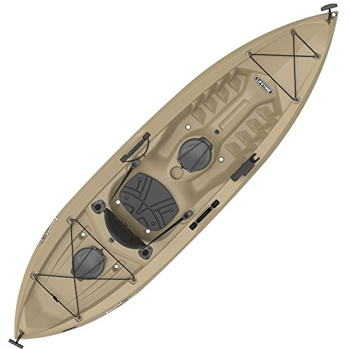 Lifetime Tamarack Sit-On-Top Kayak, Tan, 120', Model:90237