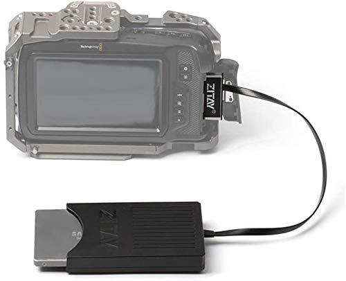 ZITAY CFast zu SSD, CFast2.0 zu 2.5 Zoll SATA SSD Kartenkonverter, CFast Adapter für EOS 1DX Mark II Blackmagic URSA Mini EF Z CAM E2 BMD BMPCC 4K Alexa Amira Lexar