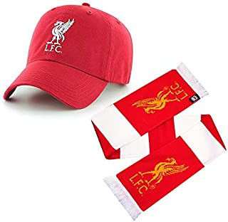 Liverpool - Accessory Gift Set 2-Piece Includes Scarf & Hat