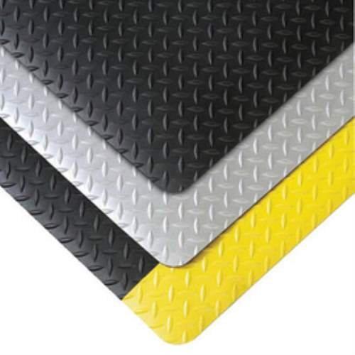 Superior Manufacturing 479S0312BL 479 Cushion Trax Mat, 3' x 12' Size, Black