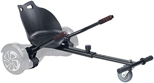 Speeron Hoverboard Sitz: Nachrüst-Set Kart-Sitz für Elektro-Scooter bis 8