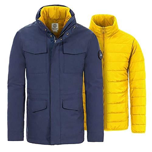 Timberland Snowdown 2in1 Herrenjacke Blau A1MXVTB9 XXL
