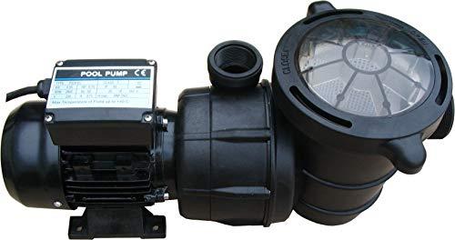 YAOBLUESEA Poolpumpe Schwimmbadpumpe Umw/älzpumpe Filterpumpe 5000L//h,f/ür die Zirkulation und Filtrierung