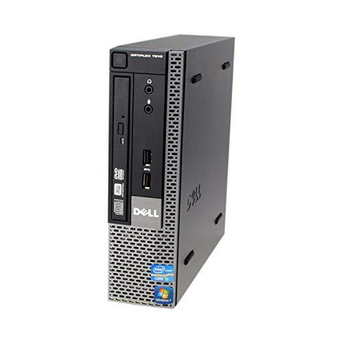 Dell OptiPlex 7010 USFF Core I5 3475S 2.90 gHz Quad Core 4GB / 320GB HDD Windows 10 Pro (Renewed)