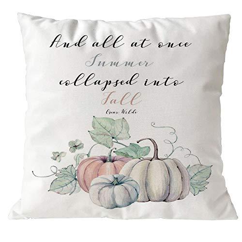 Special Design for Holiday iYBUIA Halloween Pillows Cover Decor Pillow Case Sofa Waist Throw Cushion Cover