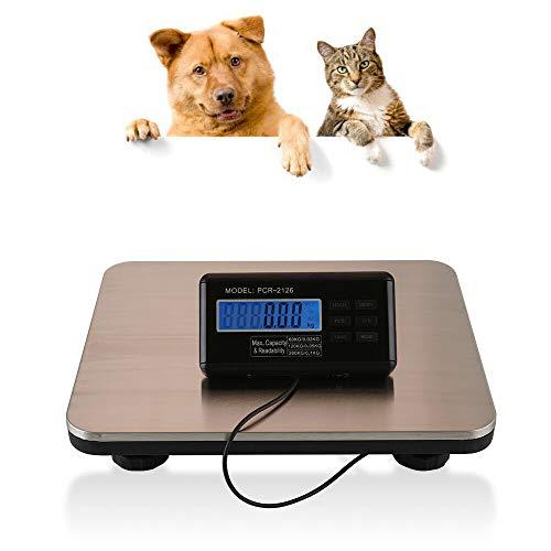 Plattformwaage Digital Pet Tierwaage...